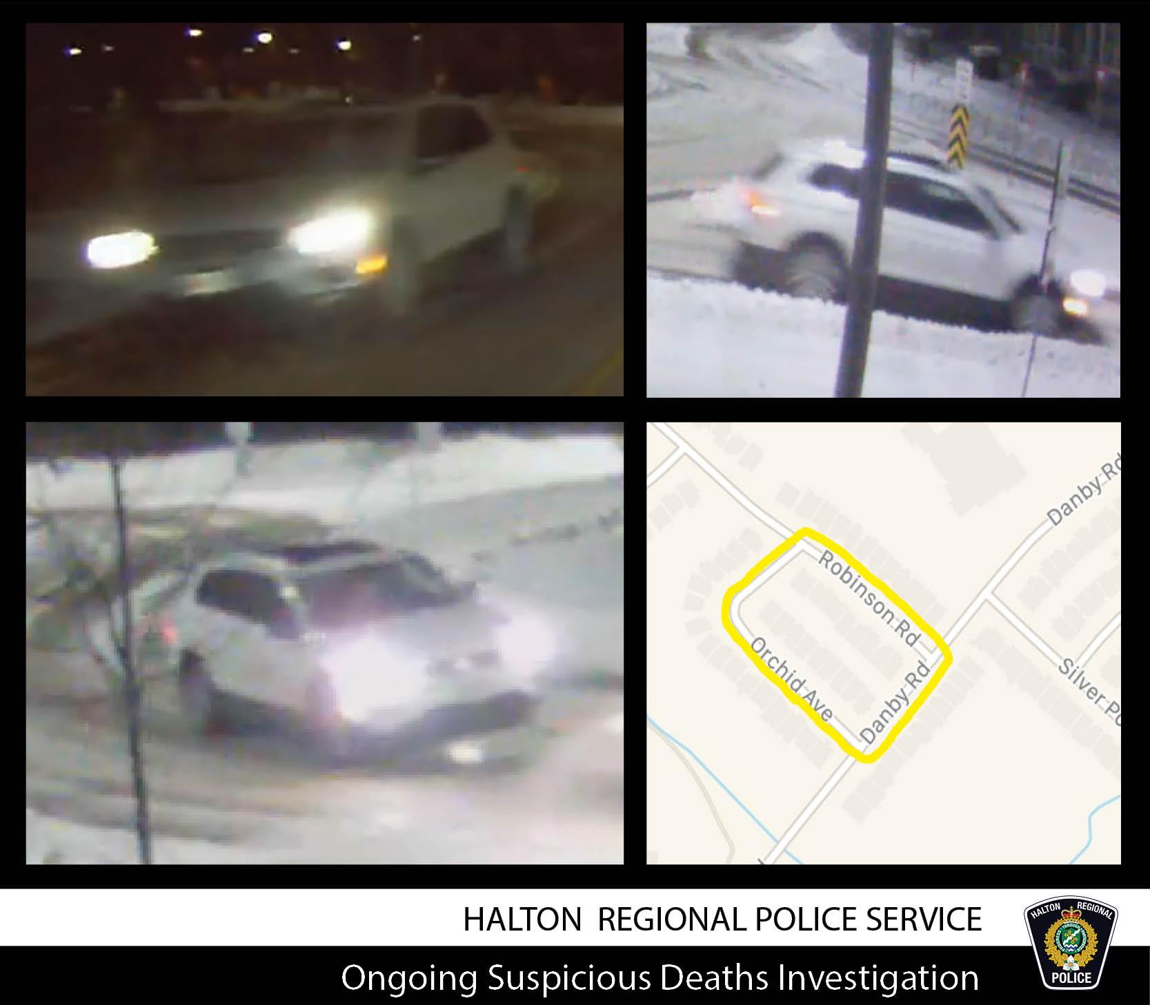 Map + Vehicle - Suspicious Deaths Investigation Feb 26 2021