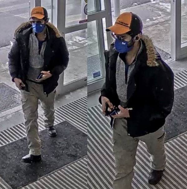 Suspect to Identify: Occurrence #2021-040378