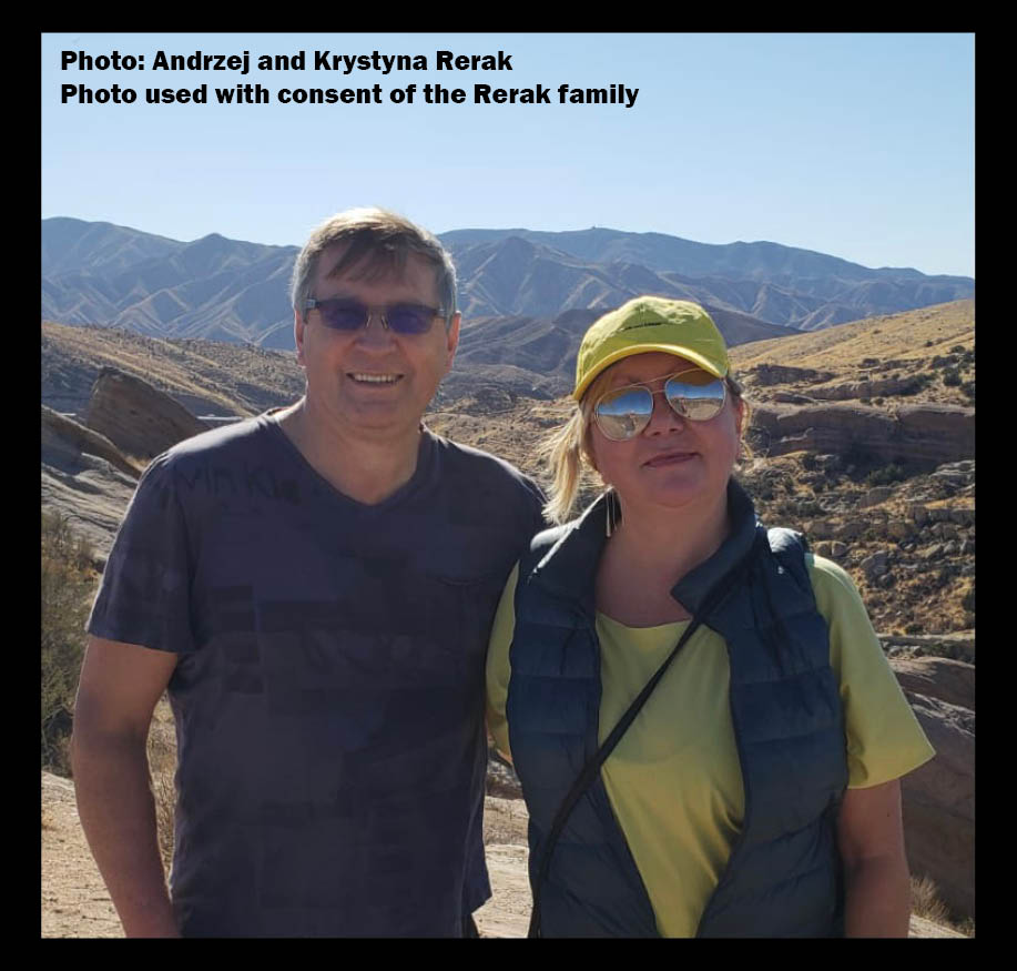Andrzej and Krystyna Rerak - for release to media - Feb 26 2021
