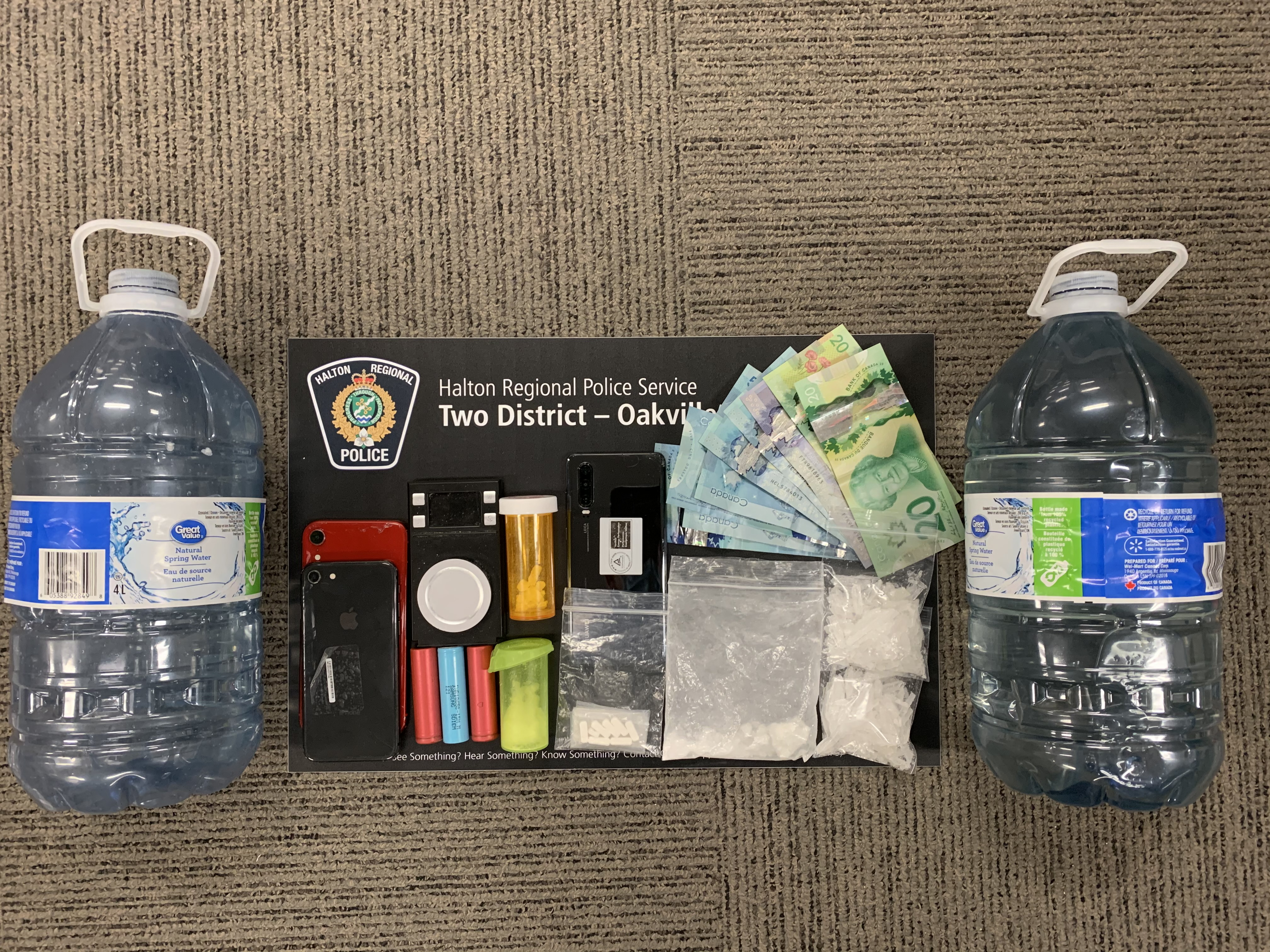March 1 Seized Items