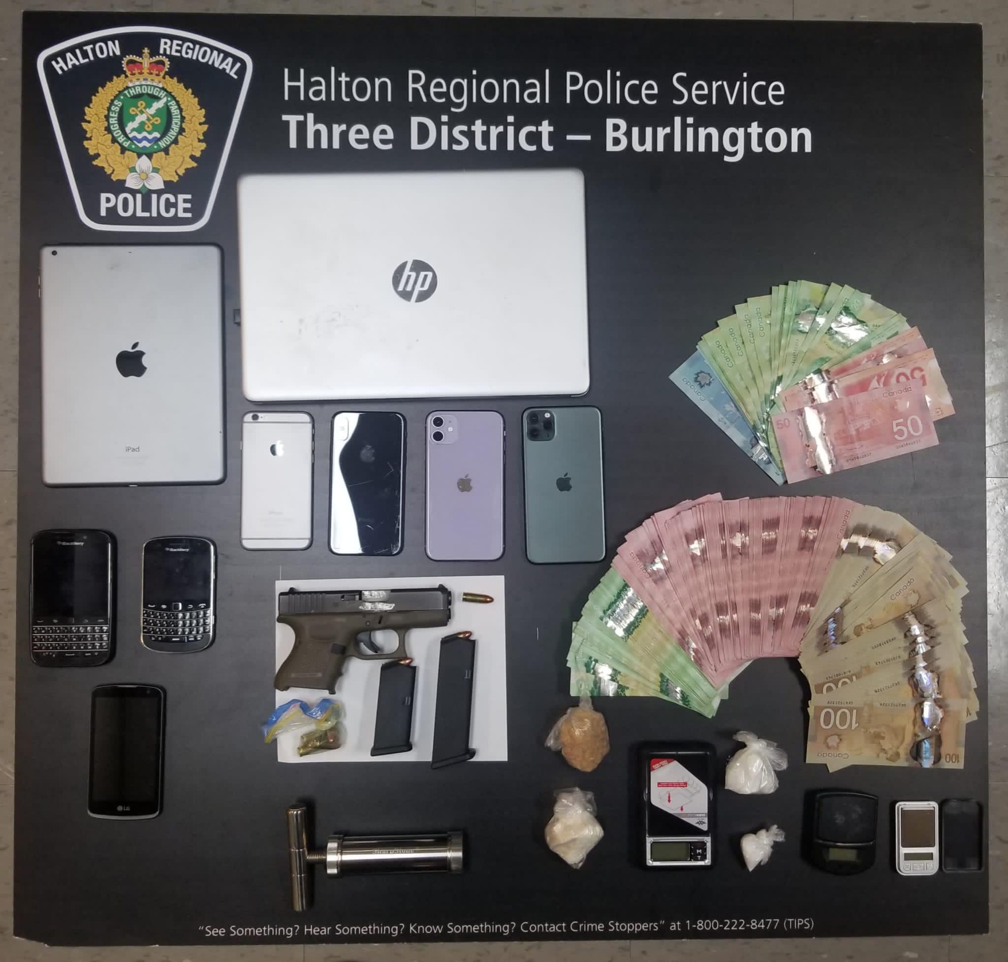 Burlington Firearm Seizure