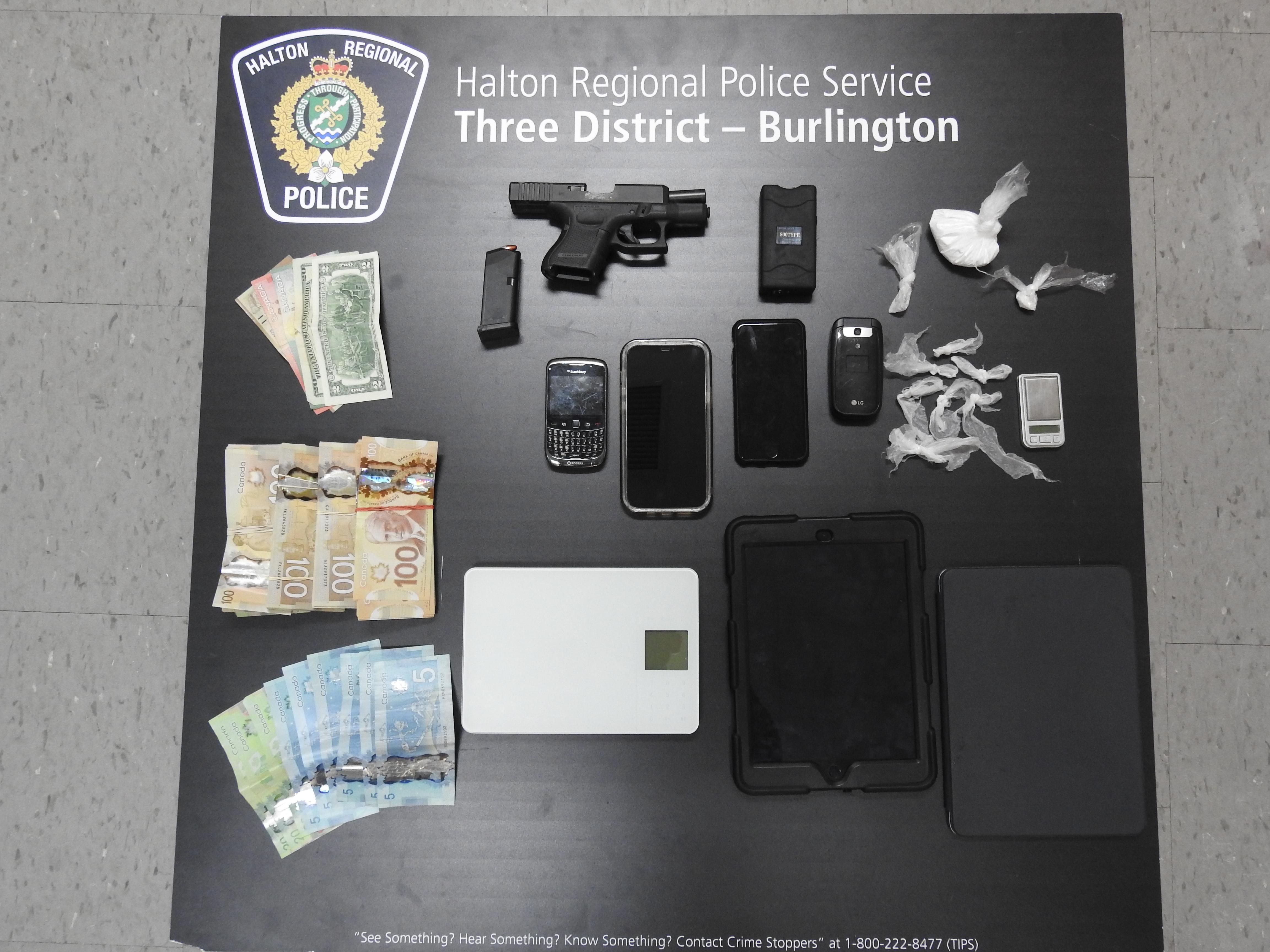 Handgun Seizure Photo